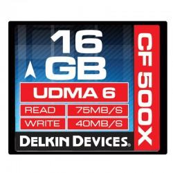 Delkin - 16gb 500X CF Card
