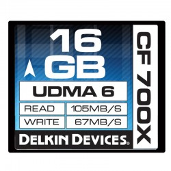 Delkin - 16gb 700X CF Card