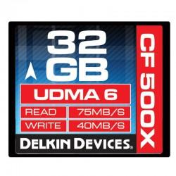 Delkin - 32gb 500X CF Card