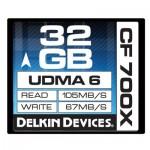 Delkin - 32gb 700X CF Card