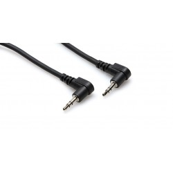 HOSA - CMM-110RR Stereo Interconnect (Right-angle 3.5 mm TRS to Same / 10 ft)