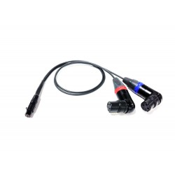 Cable Techniques - RX Emergency Two XLR-3F Receiver Cables (2)