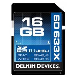 Delkin - 16gb SDHC 633X