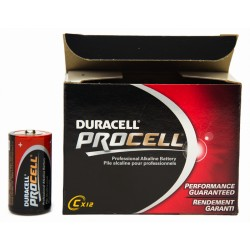 Duracell - Procell C batteries (12-pack)