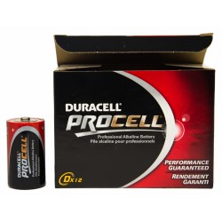Duracell - Procell D batteries (12-pack)