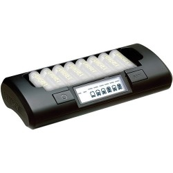 Powerex - MH-C801D 8-Cell 1-Hour Charger