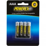 Powerex - Rechargeable AAA NiMH Batteries (4-pack)