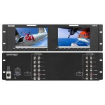 "Marshall Electronics - M-LYNX-702 7"" Dual LCD Display"