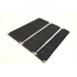 Muga - Snap On Rack Panels - Solid Fabric