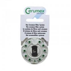 Phonak - Earwig Invisity Cerumex Waxguard Filters (11-pack) Green