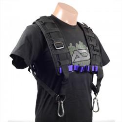 Versa-Flex - BHS1-S Breathable Mesh Harness (Small w/ Wide Strap)