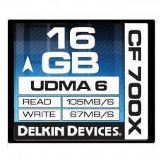 Delkin - 16gb 700X CF Card