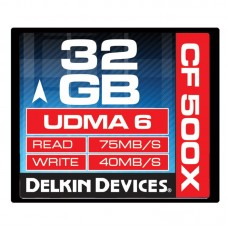 Delkin - 32gb 500X CF Card
