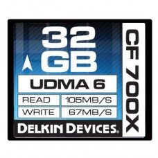 Delkin - 32gb 700X CF Card
