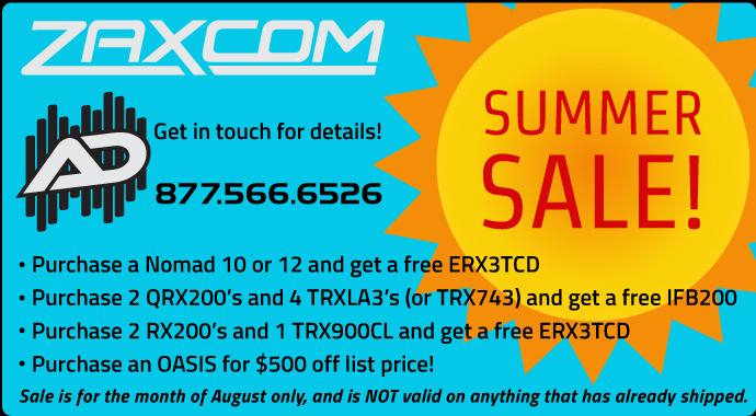 Zax summer sale