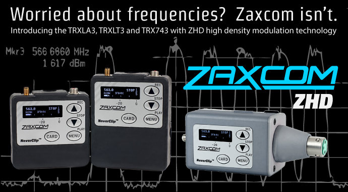 Zaxcom ZHD