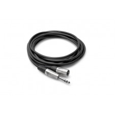 "HOSA - HSX-001.5 Pro Balanced Interconnect (REAN 1/4"" TRS to XLR3M / 1.5 ft)"