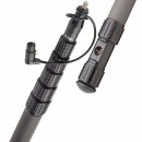 K-Tek - KP12CCR - KlassicPro 12′ - Graphite, 6 Section, Internal Coiled Cabled, Side Exit, Boom Pole