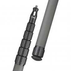K-Tek - KP12 - KlassicPro 12' - Graphite, 6 Section, Uncabled, Boom Pole